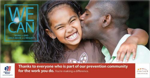 Thanks to everyone who is part of our prevention community for the work you do.