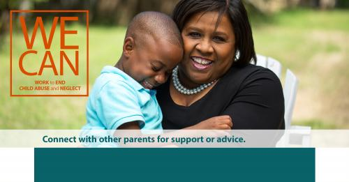 Connect with other parents for support or advice.