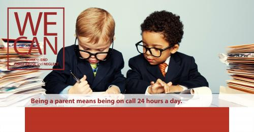 Being a parent means being on call 24 hours a day.