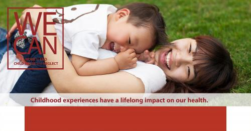 Childhood experiences have a lifelong impact on our health.
