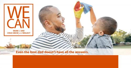 Even the best dad doesn't have all the answers.